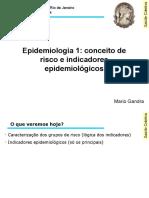 Epidemiologia 1 - risco e indicadores epidemiológicos - SLIDES.pdf