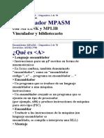mpasm tutorial