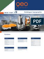 Topographie-Catalogue