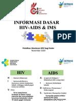 MD 2 - Informasi Dasar HIV-AIDS & IMS bagi kader