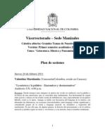 Plan de Sesiones GTNT (I, 2011)