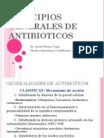 PRINCIPIOS GENERALES DE ANTIBIOTICOS(1)