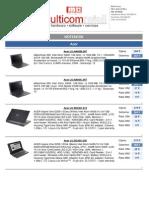 Multicom Retail Notebook cjenovnik 2.2011