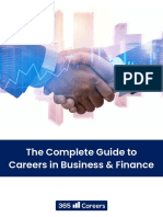 The Complete Guide to Business and Finance Careers