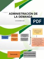 ADMÓN DE LA DEMANDA 40539 14-11