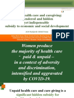 Unpaid health care and caregiving