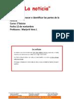 PPT LA NOTICIA 2° PARTE 5 ° B
