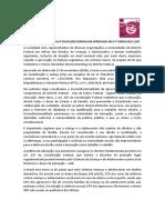 Nota Pública Contrária à Educação Domiciliar Aprovada Em 1º Turno Pela Cldf
