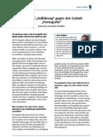 """Der David """"Aufklärung"""" gegen den Goliath """"Pornografie"""" (Interview mit Prof. Dr. Jakob Pastötter)"""