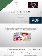 analisis literario OCTAVO