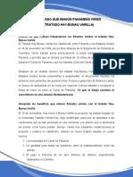 El Tratado Que Ningún Panameño Firmó