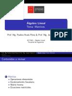 Matrices II - ICCT401