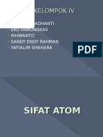 Sifat Atom