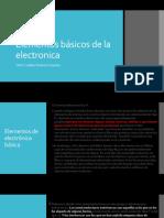 Elementos de electronica básica.