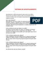 COLUMNAS Y SISTEMAS DE APUNTALAMIENTO