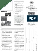 Corso Conoscere Valpolicella 2011
