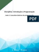 Aula 2 -  Conceitos básicos de programação.pdf