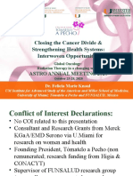 Closing the Cancer Divide & Strengthening Health Systems