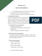 PRÁCTICA N° 7 - REACCIONES QUÍMICAS(1)