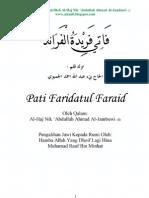 01 Pati Faridatul Faraid