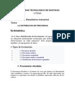 DISTRIBUCION  FREC CICLO 3