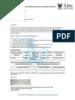 Formato Homologación Ingeniería Electrónica