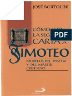 Bortolini Jose Como leer la carta 2 a timoteo Modelos del pastor y del martir cristiano.pdf