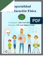 Especialidad de Educacion Fisica-Isidro J. Mendez