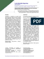 A INFLUÊNCIA DO EXERCÍCIO FÍSICO SOBRE O CORTISOL E GLICOSE SANGUÍNEADE PRATICANTES DE ATIVIDADE FÍSICA