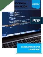 Lab08 Introduccion a la programación