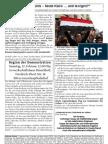 Gestern Tunis – heute Kairo ... und morgen?