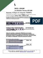 Códigos del TDA9570