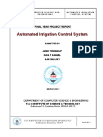 Automated Irrigation Control System(AICS)