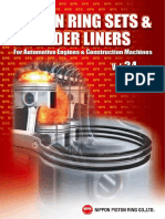 Catalogue Vol.34-PISTON RING SETS & CYLINDER LINERS