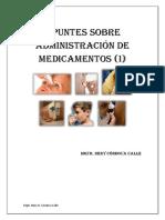 Apuntes  de Administración de medicamentos