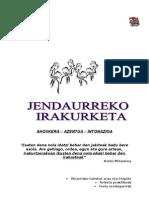 Jendaurreko Irakurketa-2011-2012