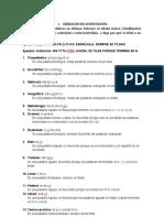 lengua española tarea 3