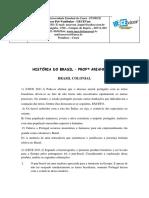 TD ESPECIFICA - HISTÓRIA DO BRASIL