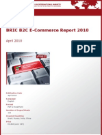 BRIC B2C E-Commerce Report 2010 by yStats