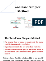 Two phase method