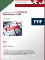 Global B2C E-Commerce Assortments 2010 by yStats