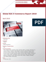 Global B2C E-Commerce Report 2010 by yStats