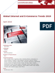 Global Internet and E-Commerce Trends 2010 by yStats