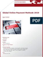 Global Online Payment Methods 2010 by yStats