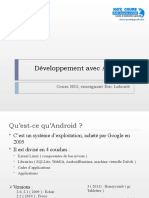 Cours Android Développement avec Android.ppt