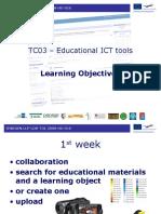 TC03 – Educational ICT tools