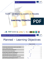 TC04 - E-learning event in Moodle