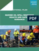 MARINE OIL SPILL RESPONSE