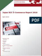 Japan B2C E-Commerce Report 2010 by yStats