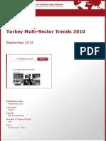 Turkey Multi-Sector Trends 2010 by yStats